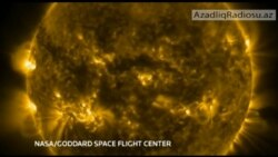 6.Kosmos-2014 Günəşin nəhəng ləkələri
