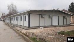 Модуларната ковид болница во Тетово пред пожарот