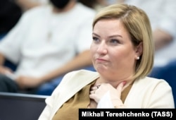 """Russian Culture Minister Olga Lyubimova: """"One should not attribute to the ministry the ideas and opinions of individual members of its Public Council."""""""