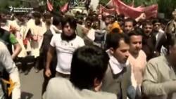Protestë kundër vrasjeve nga talibanët