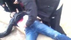 Видео ранения и гибели в Жанаозене
