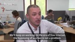 Crimea Realities Chief Says Ban Won't Stop Website