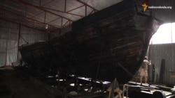 У Запоріжжі реставрують старовині судна коштом Посольського фонду США