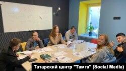 """Урок татарского языка в организации """"Тамга"""""""
