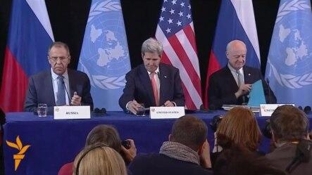 Договорено примирје во Сирија