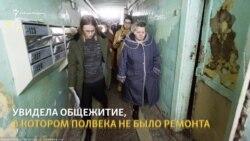 Собчак в Томске окунулась в купель и потребовала встречи с мэром