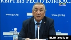 Nazirbek Borubaev is Kyrgyzstan's special representative for border issues.