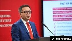 Министерот за финансии Фатмир Бесими го презентираа Предлог за ребаланс на Буџетот за 2021 година