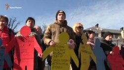 Молчаливый пикет памяти Решата Аметова (видео)