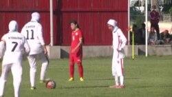 پیروزی تیم ملی فوتبال زیر ۱۴ سال دختران ایران مقابل تاجیکستان