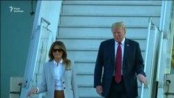Трамп приземлився у Гельсінкі, щоби зустрітися з Путіним – відео