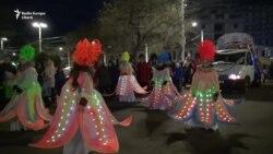 Зима на параде