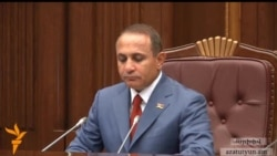 ԱԺ նախագահը վերահաստատեց իր հրաժարականը