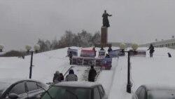 Пикет экологов в Казани
