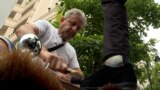 Macedonia - Shoe cleaner, Iljas Rufat