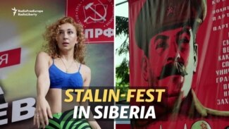 Stalin-Fest Draws Admiring Crowds In Siberia