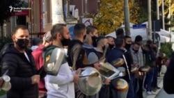 Priština: Vlasnici ugostiteljskih objekata protestovali zbog mera
