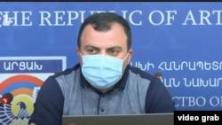 Пресс-секретарь лидера Нагорного Карабаха Ваграм Погосян