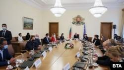 Срещата се проведе в Министерски съвет на 23.09.2021 г.