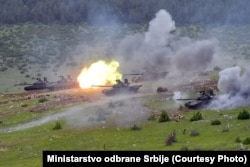 Serbia overtook Croatia as the region's biggest military spender in 2019. That ranking was fueled by a 43 percent year-on-year hike in defense spending.