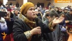 Встреча жителей Березовки с властями региона