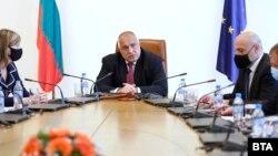 Boiko Borisov, GERB, premierul demisionar al Bulgariei (foto arhivă).