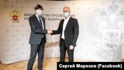 Сергей Кравцов (слева) и Сергей Морозов (справа)