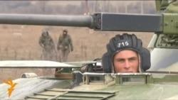 Русия чиге янында Украина гаскәрләре туплана