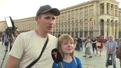 «Дякуємо, що живий» – у Києві замість поминок відсвяткували третій день народження Аркадія Бабченка (відео)