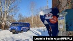Почта в селе Глубокое