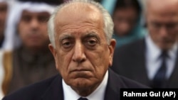 U.S. special envoy for Afghanistan Zalmay Khalilzad is visiting Pakistan.