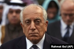 U.S. peace envoy Zalmay Khalilzad. (file photo)