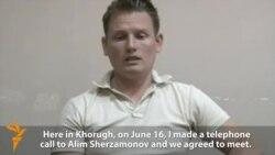 Detained Tajik Researcher Appears On TV