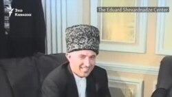 Видеохроника визита Аслана Масхадова в Тбилиси