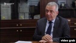 Министр обороны Армении Вагаршак Арутюнян, 20 декабря 2020 г.