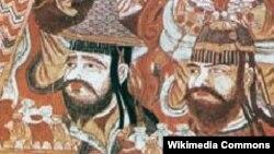 Купцы из Согда на древних фресках