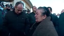 В Ереване родственники пропавших без вести в Нагорном Карабахе вышли на митинг