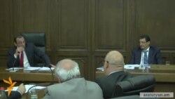 Խորհրդարանում 2015 թվականի բյուջեի կատարողականի քննարկման ժամանակ թեժ բանավեճ ծավալվեց