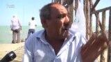 Bilgəhli balıqçı: 'Hasarın o üzünə keçə bilmirik, 'oxrana' deyir, olmaz'