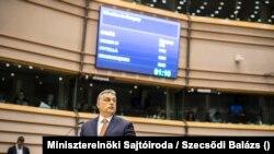 Orbán Viktor Brüsszelben 2017. április 26-án