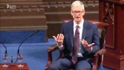 """""""Apple""""in rəhbəri Trumpın qadağasını tənqid edir"""