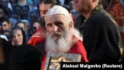 Rogue Russian priest Father Sergiy, aka Nikolai Romanov (file photo)