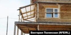 Балкон в доме Лукаса