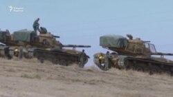 Сурия армияси турк қўшинларининг курд отрядларига қарши амалиёт ўтказаётган минтақага келди