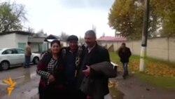 OZOD-VIDEO: Сиëсий маҳкум Мурод Жўраев озодликка чиқди