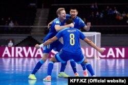 Сборная Казахстана по футзалу на чемпионате мира в Литве. Сентябрь 2021 года