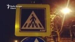 Chisinau crosswalk