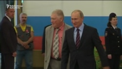 Vladimir Putin Votes in Russian Local, Regional Elections
