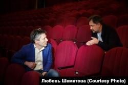 Дмитрий Богачев и Евгений Писарев