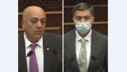 ՍԴ դատավորներ Արթուր Վաղարշյանն ու Էդգար Շաթիրյանը Ազգային ժողովի ամբիոնից երդվեցին